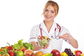 Treatment of cancer with healthy diet